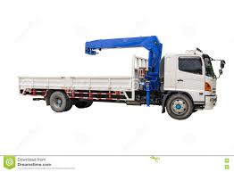 Boom Truck Crane Stock Photo. Image Of Structure, Technology - 75290988