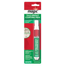 Homax Tub And Tile Refinishing Kit Instructions by Magic 0 25 Oz Tile Grout Coating Pen In White 3076 The Home Depot