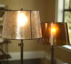 Pottery Barn Floor Lamp Shades by Mica Tapered Drum Lamp Shade Pottery Barn