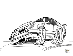 Mustang Coloring Pages Gt Car