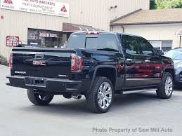 2017 Used GMC Sierra 1500 Denali Ultimate Package 4WD At Saw Mill ... East Wenatchee Used Gmc Sierra 2500hd Vehicles For Sale 2017 1500 4wd Double Cab Standard Box Slt At Banks Parts 2006 53l 4x2 Subway Truck Inc Regina 230970 2004 Custom Pickup For Gmc Trucks Near Me Best Of 2016 2015 Crew Denali Vancouver 2500 Mccluskey Automotive Presque Isle