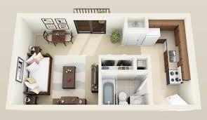 Beautiful 2 Bedroom Studio Apartments Pleasing Bedroom Designing
