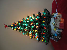 Replacement Light Bulbs For Ceramic Christmas Tree by Amazon Com Ceramic Christmas Tree 19 Inches Tall With Toy Base