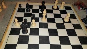 A Chess Game Scenario