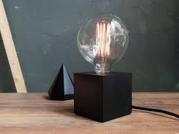 Crate And Barrel Rex Grey Desk Lamp by Black Concrete Lamp Concrete Table Lamp By Industrialrepublic