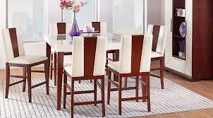 sofia vergara savona ivory 5 pc counter height dining room