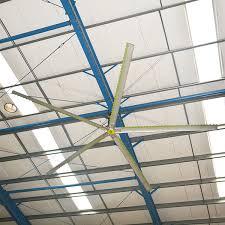 industrial warehouse hvls ceiling fans go fan yourself oversized