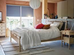 inspiration für ein schlafzimmer in braun rosa ikea