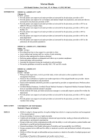 Medical Assistant Resume Sample 89 Examples Of Rumes For Medical Assistant Resume 10 Description Resume Samples Cover Letter Medical Skills Pleasant How To Write A Assistant With Examples Experienced Support Mplates 2019 Free Summary Riez Sample Rumes Certified Example Inspirational Resumegetcom 50 And Templates Visualcv