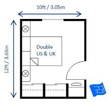 Heres A Small Bedroom Design For Double Bed 10 X 12ft The And