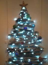 Driftwood Christmas Tree Nautical