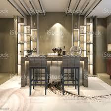 3d rendering weiß moderne und luxus design esszimmer stockfoto und mehr bilder architektur