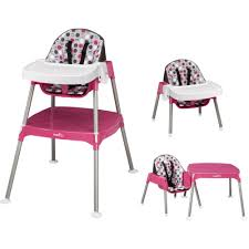 Evenflo 3-in-1 Convertible High Chair Baby Feeding Adjustable Height Rose  NEW   EBay Evenflo Trillo 3in1 High Chair Green Check Out Madagascar Snap Shopyourway Quatore 4in1 Lake Evenflo Hair Ompat Zoo Friends Baby Feeding Back Best Convertible Review 10babythingscom Dottie Rose Expressions Plus Bergen Discontinued By Manufacturer High Chair Girls Chairs Gear Kohls Fava Brown Symmetry Flat Fold Koi Ny Store