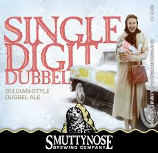 Smuttynose Pumpkin Ale Calories by Single Digit Dubbel Smuttynose Brewing Company