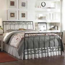Queen Metal Bed Frame Walmart by White Wrought Iron Bed Frame Ktactical Decoration
