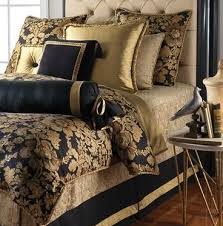 Mystic Valley Traders Custom Verdana Bedding Collection Black Gold BedroomGold Bedroom DecorBedroom