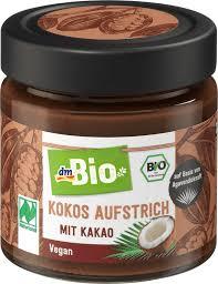 aufstrich kokos aufstrich mit kakao naturland 200 g