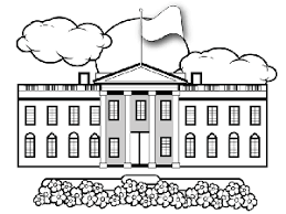 Whitehouse Coloring Page