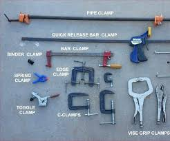 Different Types Of Clamps A Quick Guide To Woodworking Find The Right Clamp For Your