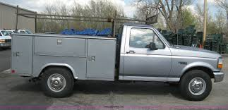 Stahl Utility Bed by 1997 Ford F250 Utility Truck Item E3482 Sold June 4 Gov