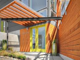 Contemporary Orange Front Door Design Ideas & Pictures | Zillow ... Door Designs For Houses Contemporary Main Design House Architecture Front Entry Doors Best 25 Images Indian Modern Blessed Of Interior Gallery Hdware Exterior Home 50 Custom Single With Sidelites Solid Wood Myfavoriteadachecom About Living Room And 44 Best Door Images On Pinterest Homes And Deko