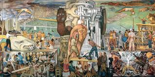 Coit Tower Murals Diego Rivera by 3 Diego Rivera Frescos San Francisco Travelers Guide