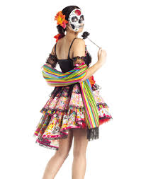 Spongebob Halloween Dvd Ebay by Day Of The Dead Mexican Holiday Womens Halloween Costume Ebay