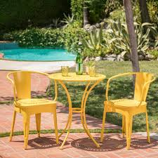 Noble House Lourdes Matte Yellow 3-Piece Metal Outdoor Bistro Set ... Safavieh Outdoor Living Abia White Wrought Iron Tree Bench 50 Whimsical Outdoor Wedding Reception With Market Lights And Cross Buy Dedon Mu Lounge Chair Online Clima Oak Leaf Wind Weather Faux Queen Anne Metal Garden Chairs For Sale At 1stdibs Amazoncom Kids Wooden Whimsical Aries The Ram Engraved Lets Do Ding Making It Lovely Shop Contemporary 37 Inch Red Wire By Studio Breezy And The Beautifully Contoured Frame On This Bright Scene Child Size Stock Photo Edit Now
