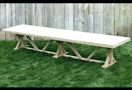 Extra Long Dining Table Bench Stunning Outdoor