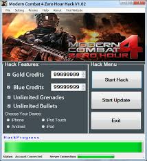 modern combat 4 ios modern combat 4 hack gold and blue credits android and ios best