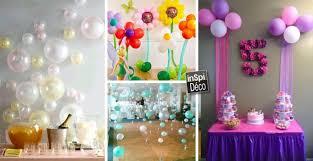 decoration pour anniversaire décorer avec des ballons pour un anniversaire 20 idées