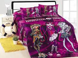 zspmed of monster high bedding set cute with additional small home