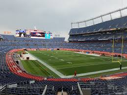 Sports Authority Field Section 117 RateYourSeats