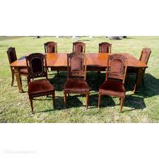 Set 8 Walnut High Back Art Nouveau Dining Chairs - Antiques Atlas Set Of 8 Vintage Midcentury Art Nouveau Style Boho Chic Italian Stunning Of Six Inlaid Mahogany High Back Chairs 2 Pair In Antiques Atlas Lhcy Solid Wood Ding Chair Armchair Lounge Nordic Style A Oak Set With Table Seven Chairs And A Side Ding Suite Extension Table France Side In Leather Chairish Gauthierpoinsignon French By Gauthier Louis Majorelle Caned An Edouard Diot Art Nouveau Walnut And Brass Ding Table Four 1930s American Classical Shieldback 4