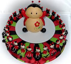 deco coccinelle pour bapteme gateau anniversaire theme coccinelle secrets culinaires gâteaux