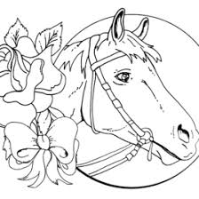 Adult Horse Coloring Pages Free Barbie