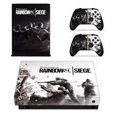 siege xbox one rainbow six siege skin sticker decal for microsoft xbox one x