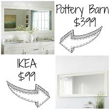 Decor Look Alikes  Pottery Barn Classic Double Wide Mirror Retails ... Redecor And More Pottery Barn Lookalike Hutch Fniture Redo Charleston Slipcovered Sofa Decor Look Alikes Articles With Ding Table Tag Pottery Barn Look Alike Bedroom Fniture Furnishing With Sofa Slipcover Satisfactory Sofas Center Pearce Alike Reviews Cabinets Bathroom Vanities Restoration Hdware Imposing Photo Concept Vanity 5 Get The For Less Living Space Dwell Beautiful