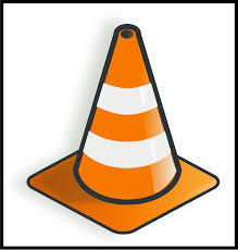 Traffic Cone Warning Safety Construction Danger