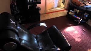 X Rocker Vibrating Gaming Chair by My U0027x Rocker Gaming Chair U0027 Setup Youtube