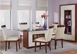 shop for a sofia vergara savona 5 pc pedestal dining room at rooms