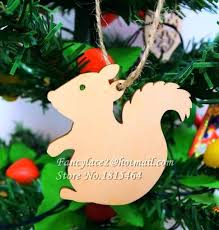 Wedding Tree Decor Wish Card Squirrel Wood Tags Decoration Ornaments Rustic Valentine Party