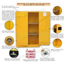 Flammable Liquid Storage Cabinet Requirements by Safety Flammable Liquid Storage Cabinet With Paddle Lock