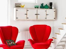 Red Accent Chair | Fibi Ltd Home Ideas