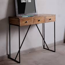 Beautifully Choices Industrial Style Console Table