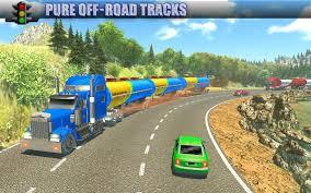 Oil Tanker Long Trailer Truck Simulator-Road Train - Android Games ...