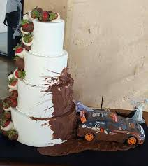 Wedding Cake But Switch The Car With A Truck Or Side By Side | Mrs ... Photo Gallery Dixie Cfexions Wedding Cake With Truck Sling Mud From Icimagesco The Hunt Is Over Cakes Monster Shop Cupcakes Bakery Flavors 268 Patty Highland Il Muddy Cakecentralcom Twotier Buttercream With Pink Flowers And Wire Topper Thats A Redneck Bright Ideas