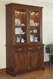 heirloom china cabinet woodworking plan from wood magazine