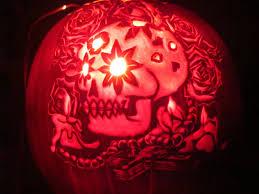 Day Of The Dead Pumpkin Carving Patterns by Dia De Los Muertos Pumpkin Stencil Image Mag