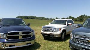 2013 Ram 1500 Vs Ford F-150 Vs Chevy Silverado 0-60 MPH Mashup Test ...